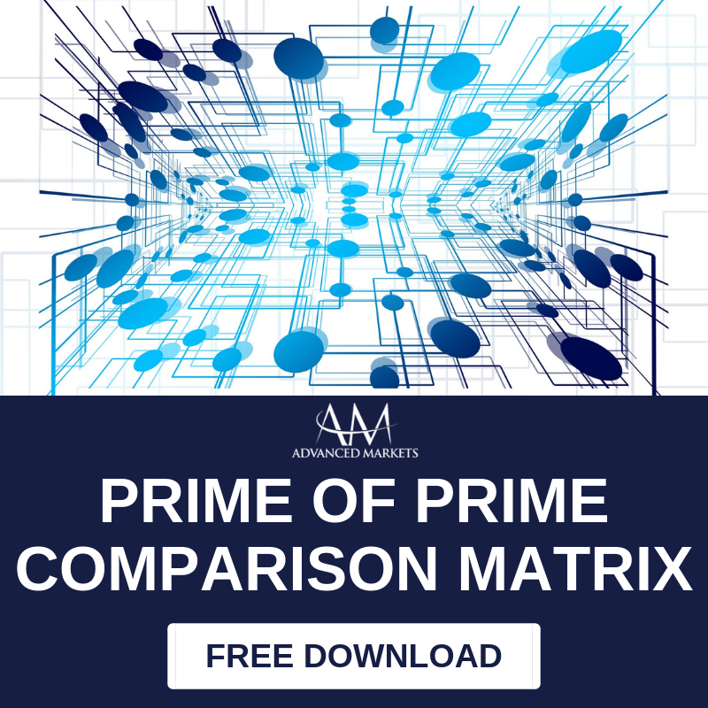 Advanced Markets - Prime of Prime Comparison Matrix - Download