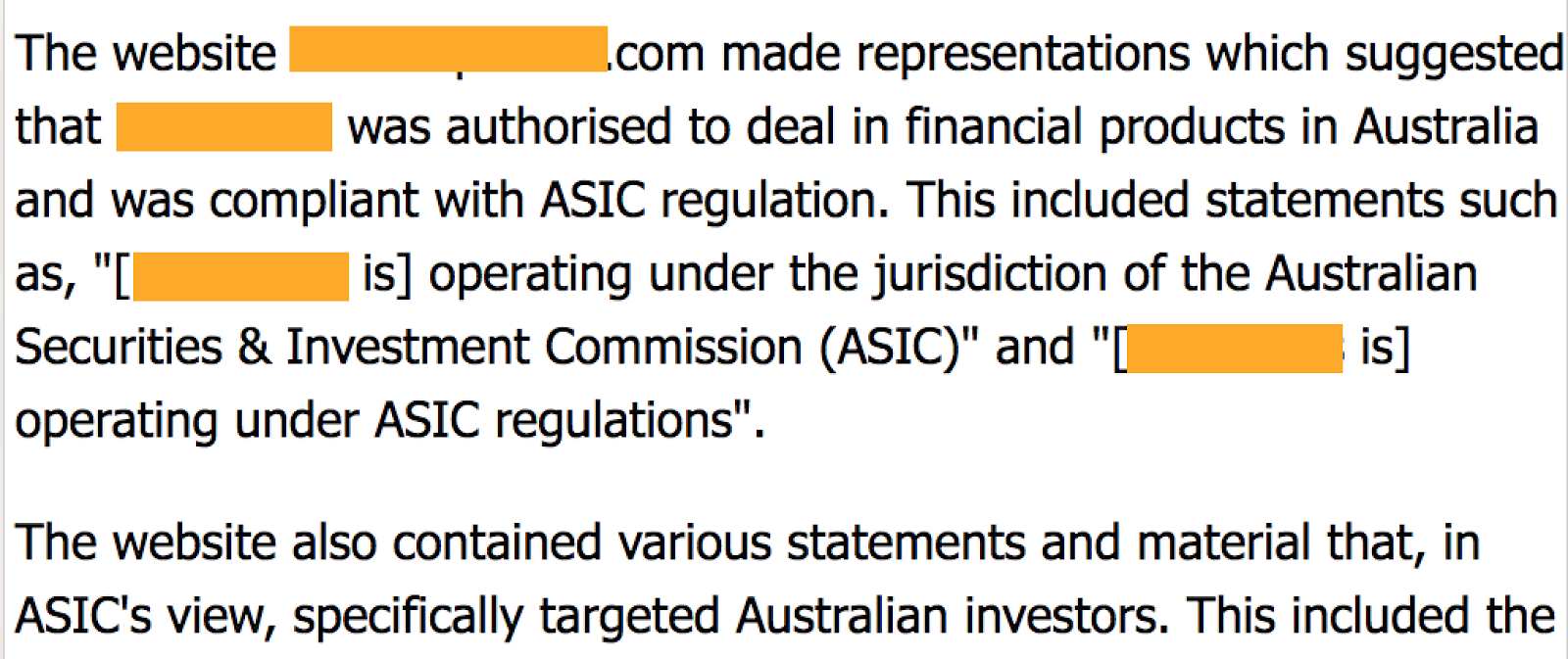 7 - Example 5 - Violation report issued by Australian regulator.png