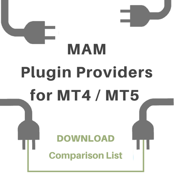 Comparison List with MAM Plugin Providers for MT4 and MT5