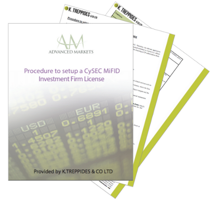 "Download a Free Guide: ""Procedure to setup a CySEC MiFID Investment Firm License"""